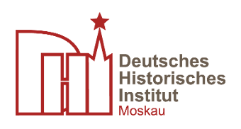 Logo GHI Moskau: Lectures in the History of the 18th and 19th centuries